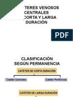 III Cateteres Venosos Centrales