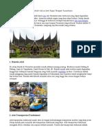 10 Contoh Karya Seni Rupa Terapan Nusantara