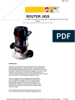 Woodworking Plans - Router Jigs