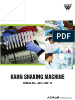 Kahn Shaking Machine