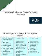 VDHS-12 Vehicle Dynamics Design Process