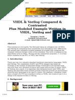 Verilog VHDL C