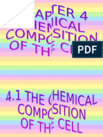 4.1 Chemical Compistion of the Cell