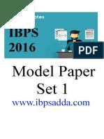3534_IBPS PO Model Paper 1