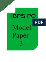 41022_IBPS PO Model Paper 3