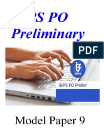 98175_IBPS PO Model Paper Prelims 9