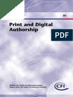 Authorship Digital