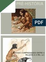 PRÉ-HISTÓRIA 5ª série