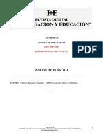 Revista Digital - Rincón de Plástica