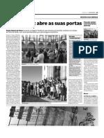 Visitas à Igreja Matriz Diário de Aveiro 6 de Agosto de 2016