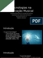 Tecnologias Na Educação Musical