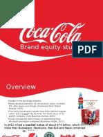 Brand Equity Study-Coca-Cola