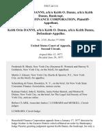 In Re Keith Orin Danns, A/K/A Keith O. Danns, A/K/A Keith Danns, Bankrupt. Household Finance Corporation v. Keith Orin Danns, A/K/A Keith O. Danns, A/K/A Keith Danns, 558 F.2d 114, 2d Cir. (1977)