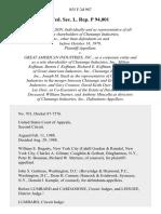 Fed. Sec. L. Rep. P 94,001, 855 F.2d 987, 2d Cir. (1979)
