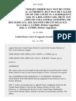 In Re John A. Luhrs, Debtor-Appellant John A. Luhrs, Debtor-Appellant, 89 F.3d 826, 2d Cir. (1995)