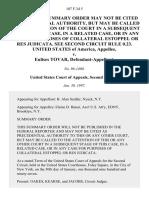 United States v. Eulises Tovar, 107 F.3d 5, 2d Cir. (1997)