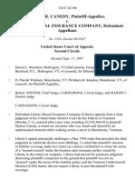 Marian R. Canedy v. Liberty Mutual Insurance Company, 126 F.3d 100, 2d Cir. (1997)