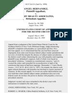 Angel Hernandez v. Conriv Realty Associates, 182 F.3d 121, 2d Cir. (1999)