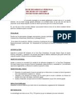 CAPACITACION (Superacion) Autoestima y Motivacion Personal