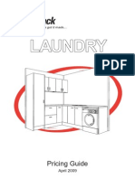 SMARTPACK Laundry Quick Pricing Guide November 2009