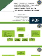 Universidad Central Del Ecuador_enfoque Del Clima Organizacional