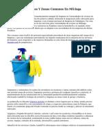 Limpieza De Portales Y Zonas Comunes En Málaga