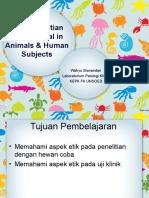 Etika Penelitian Manusia & Hewan_16