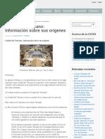 Ciudad Del Vaticano_ Información Sobre Sus Orígenes