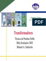 Doble Transformadores de Potencia