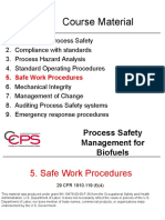 05 Biofuels Safe Work Procedures