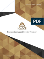 Quebec Immigrant Investor Program (Canada) - Lalani & Associates