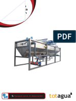 Manual Equipo de flotación por aire disuelto DAF