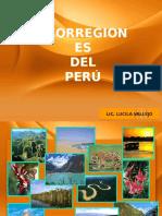 ECORREGIONES DEL PERU