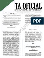 Gaceta 6209 Ley Seguridad Social FANB