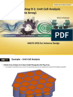 Ansys Hfss Antenna w09 1 Unit Cell