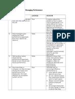 Assessing & Managing Performance (1)