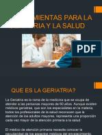 Herramientas Para La Geriatria y La Salud