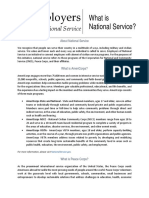 CNCS Americorps What is National Service