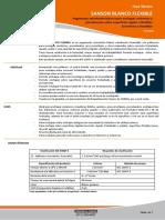 Porcelanato - Ficha Tecnica Sanson Blanco Flexible_v0012016