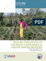 PROCESS EVALUATION OF THE PEACE CORPS/SENEGAL MASTER FARMER PROGRAM (OCTOBER 2014 REVISED EDITION)