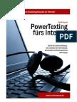 Internettexte, Homepagetexte