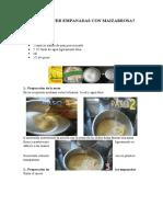 Cómo Hacer Empanadas Con Maizabrosa