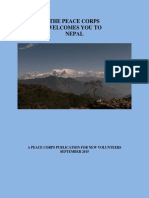 Peace Corps Nepal Welcome Book 2015