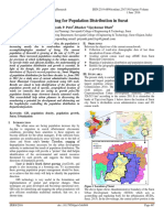 GIS Mapping for Population Distribution in Surat