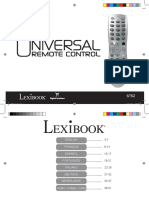 Manual Mando Universal