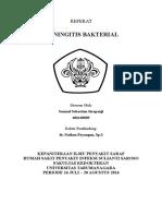 Referat Saraf - Meningitis Bakterial - Samuel SS