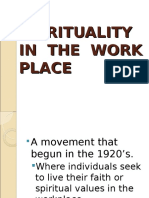 Spirituality in the Work Place