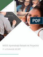 MOOC ABP_4_La Evaluacion Del ABP