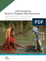 Environmental Guidance Notes for Drr