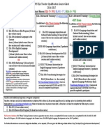 teacher qualification worksheet